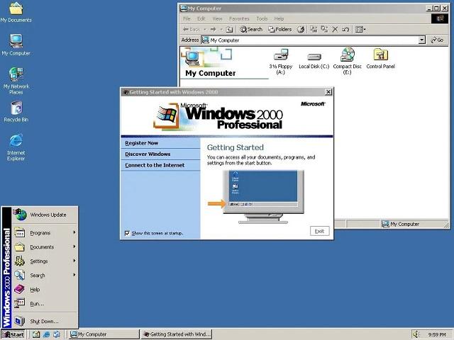 Cài win quận 9: Hệ điều hành Windows 2000