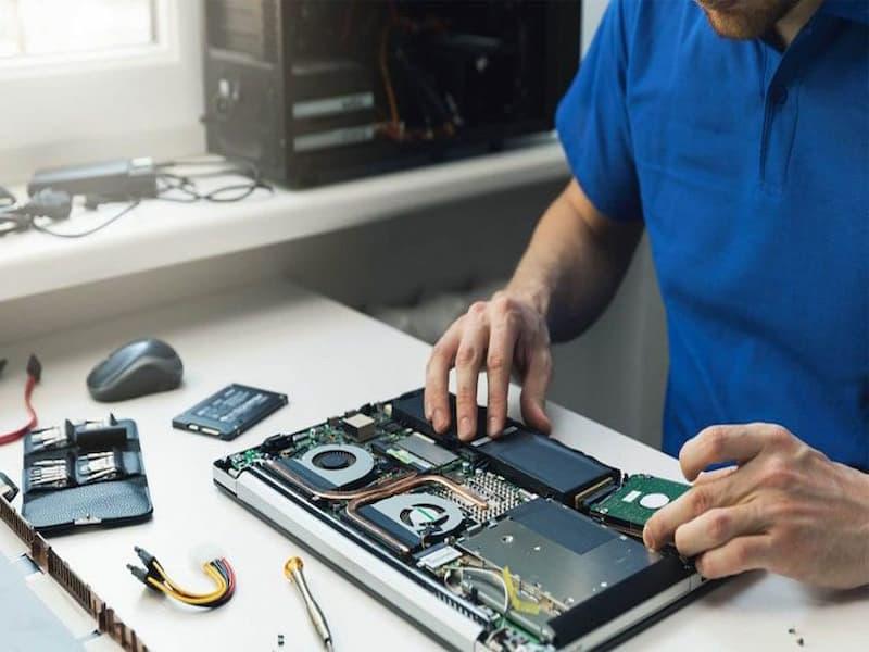 Quy trình sửa laptop quận 8 tại nhà