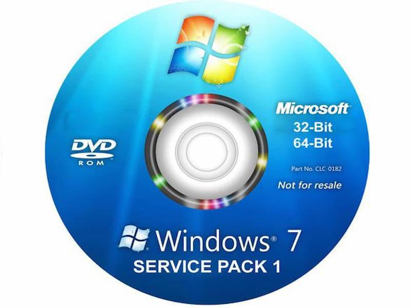 Cài Windows từ đĩa CD/ DVD